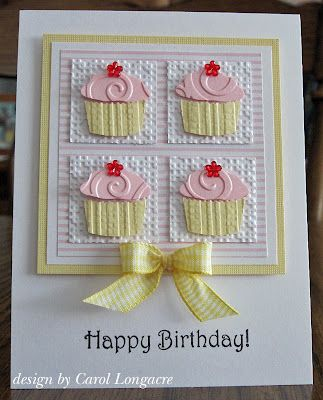 Emboss your Create a Cupcake Punch