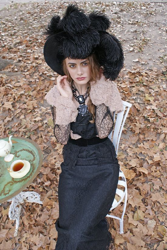 The Most Spectacular Edwardian Hat Ive Ever Seen by BoudoirQueen, $675.00