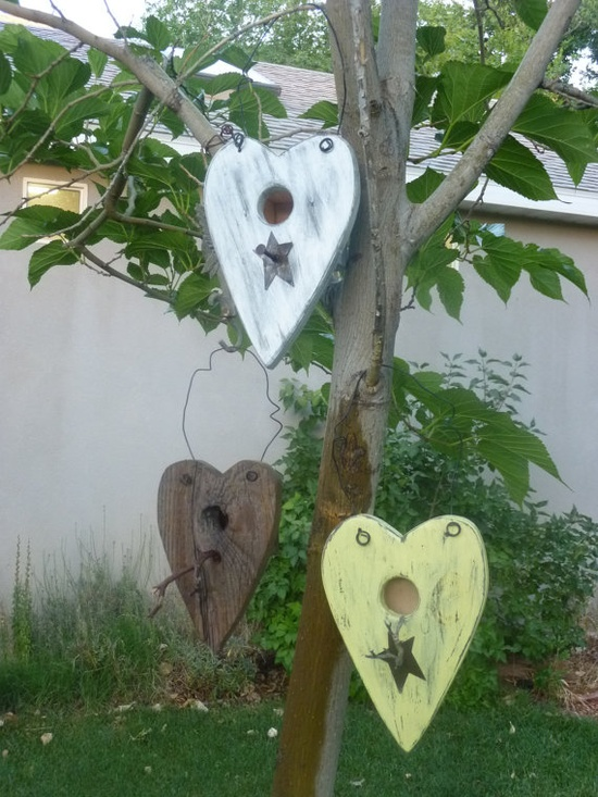 bird houses - I can see these in my trees...