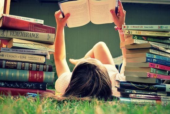 she loves books...