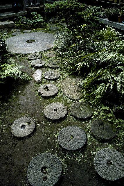 Japanese Style Garden Path