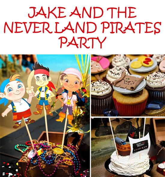 Party Feature: Jake and the Neverland Pirates Party! #pirate #party #birthday
