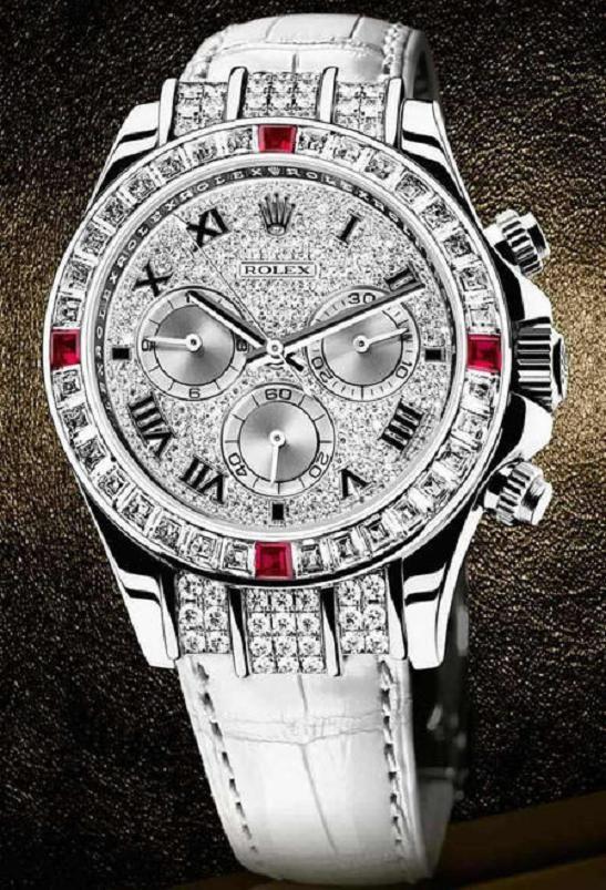 ? Rolex 18k white gold / diamonds ?