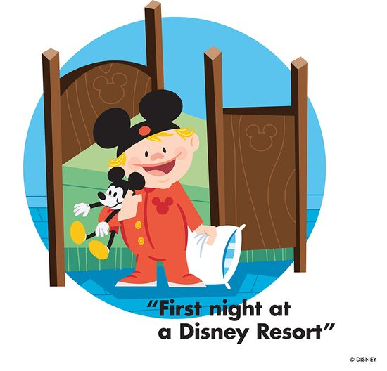 First Night at a Disney Resort:
