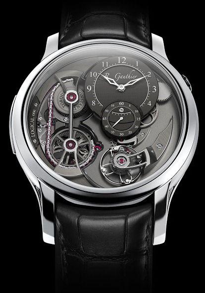 Romain Gauthier Logical One Platinum watch