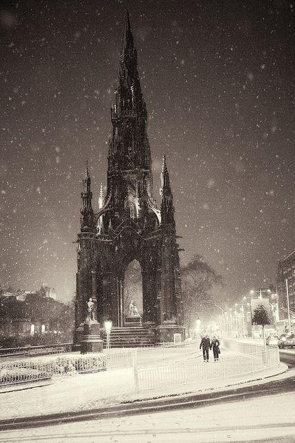 Dead of Night - Scott Monument, Edinburgh, Scotland