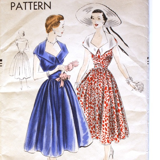 I should have been a 1950's fashion designer.