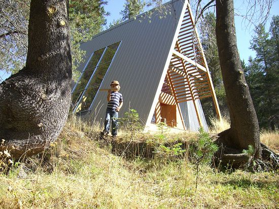 a-frame / The Green Life?