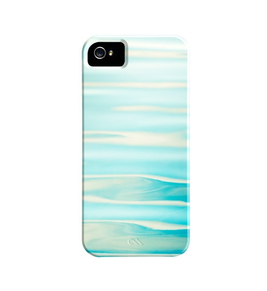 Ocean iPhone Case 5, 4s, 4 - water ripples wave sea - iphone 5 case aqua blue nautical cute iphone 4s case - iphone 4 cover cell phone case. $45.00, via Etsy.