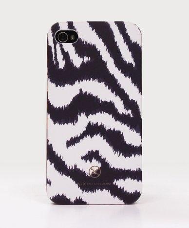 Navy zebra iPhone case.
