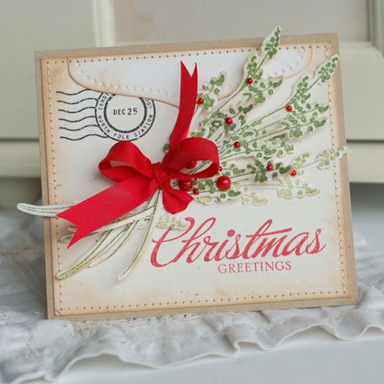 'Christmas Greetings' card.