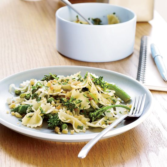 Farfalle with Spring Vegetables // More Fantastic Pasta: www.foodandwine.c... #foodandwine