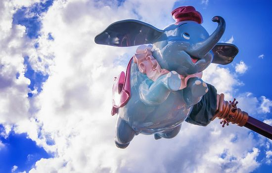 Dumbo Takes To the Skies