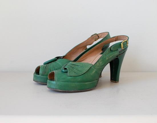 1940s shoes.
