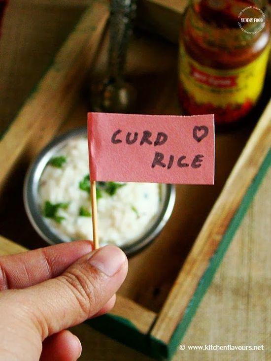 Yummy Food: Curd Rice