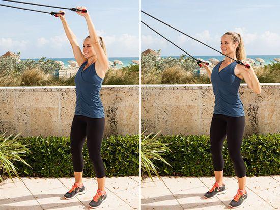 Lat Pulldown for good posture. #workout #fitness @Jess Liu Smith Gomez www.ivillage.com/...