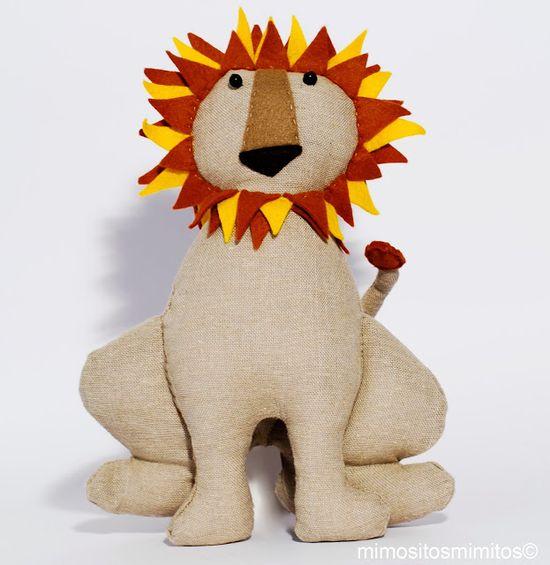#circo #león #muñeco #stuffed #carnival #circus #domador #hechoamano #handmade #craft