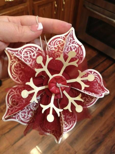 stampin' up Ornament