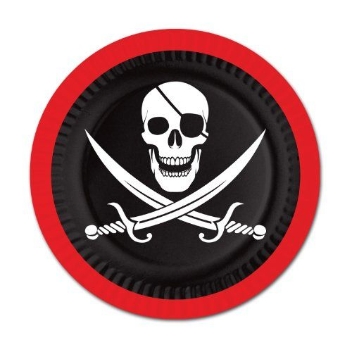 Pirate Plates Party Accessory (1 coun... (bestseller)