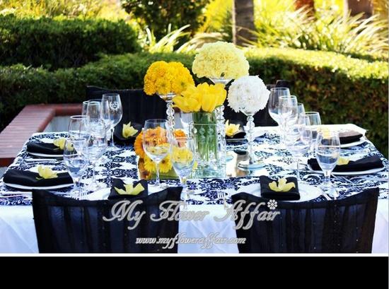Wedding flowers by My FLower Affair. www.myfloweraffai...