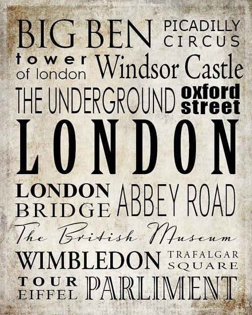 London LOOOOOVE!