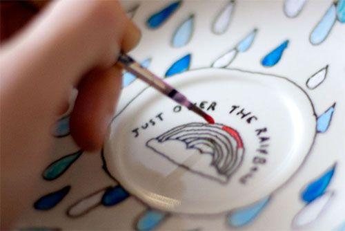 porcelain paint tips