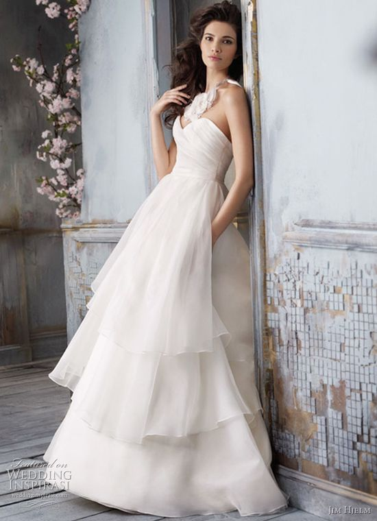 Jim Hjelm Spring 2011 Wedding Dresses