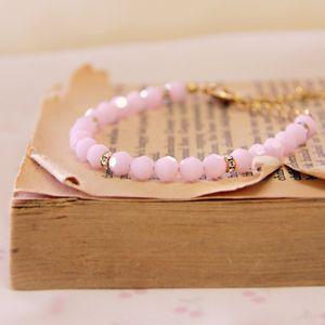 Blush Understated Vintage Elegance Bracelet - Handmade Gift Ideas for Christmas from Handmade HQ