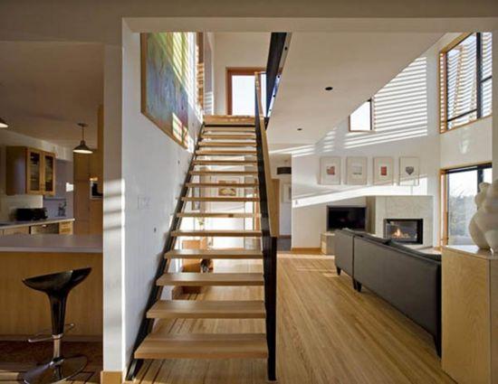 vintage modern home interior