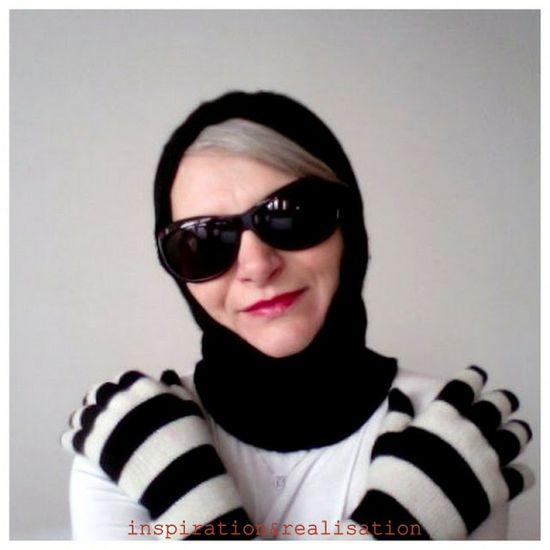 inspiration and realisation: DIY fashion blog: DIY knitted balaclava