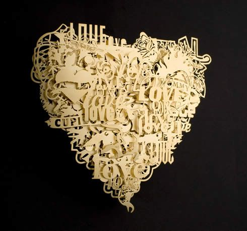 Look closely at this Paper Art Piece!  It is truly Amazing!!!!!  :)