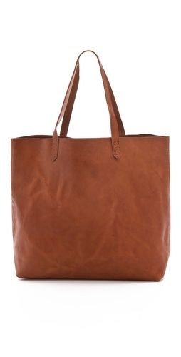 Leather Tote @ Madewell