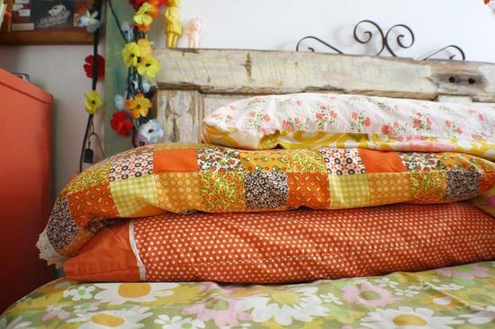 new and vintage pillowcases. #PinPantone