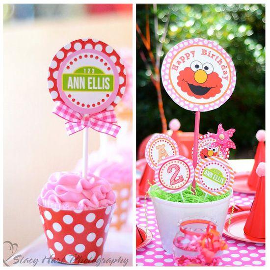 so many cute Elmo ideas!