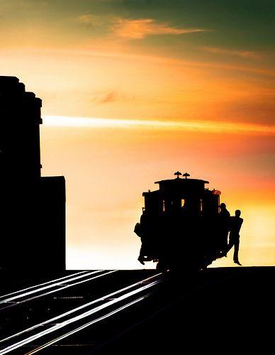 San Francisco cable car via flickr
