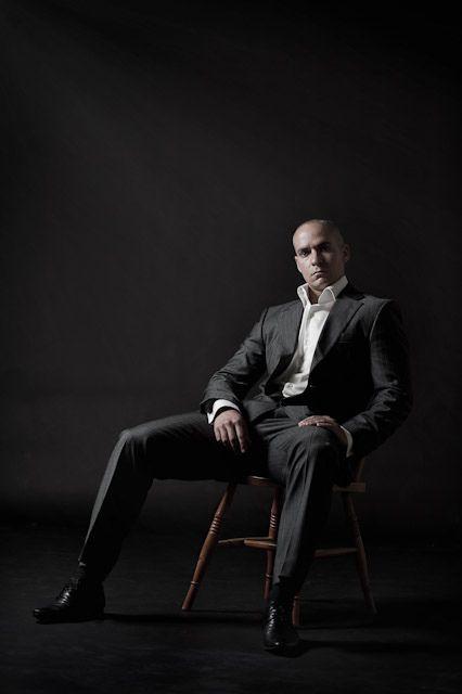 Male model 'portfolio' photo shoot.
