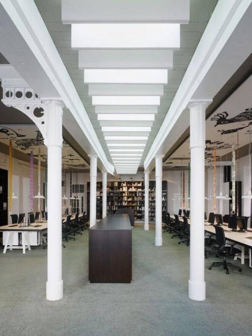 Commercial Design : Hip New Offices for Studio Ippolito Fleitz Group