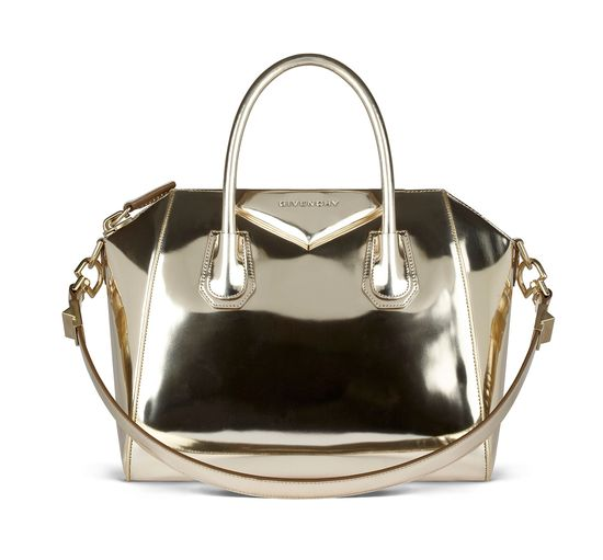 Givenchy spring 2012 metallic bag