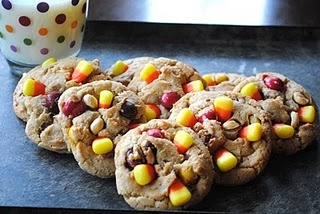 Peanut Butter M and Candy Corn Cookies or just one or the other.