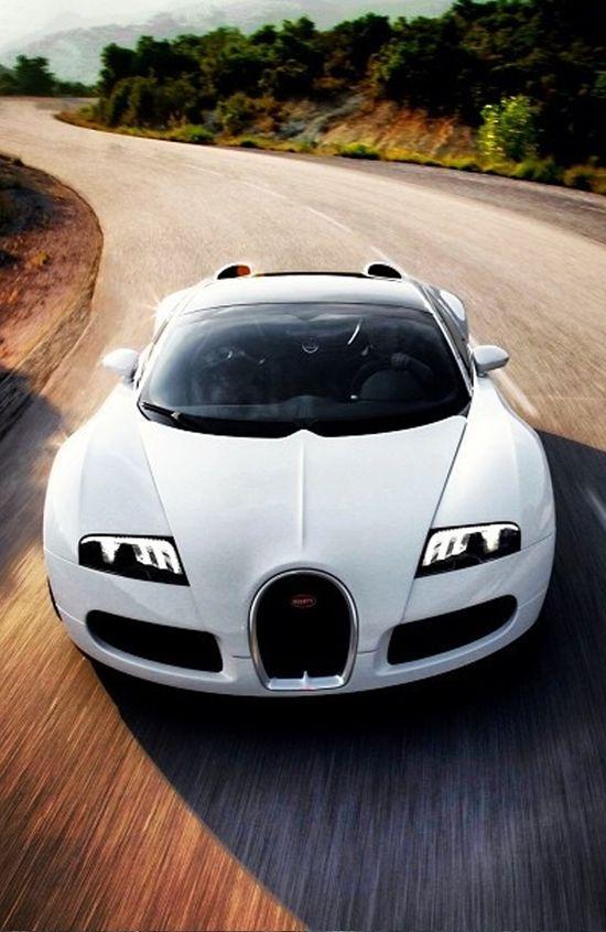 ? Gorgeous White Car Bugatti Veyron from www.carhoots.com/...