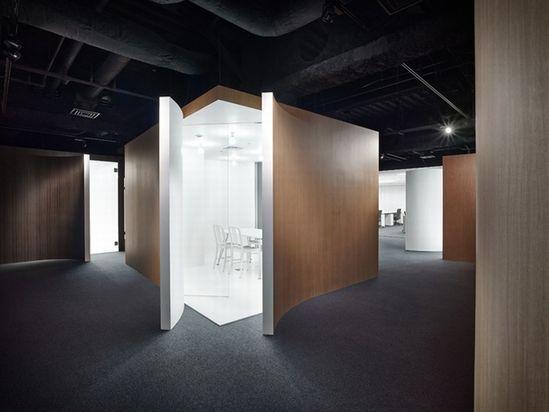 Spicebox office by Nendo, Tokyo