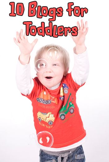 10 blogs just for toddlers