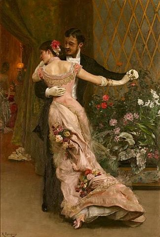 Romantic, classical painting