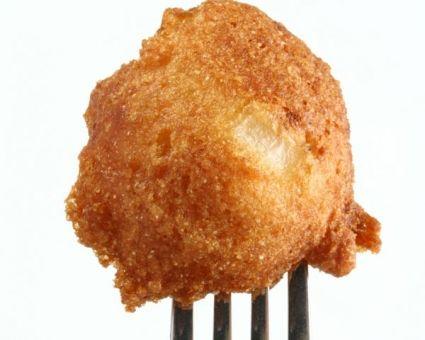 Stuffed Cornmeal Balls