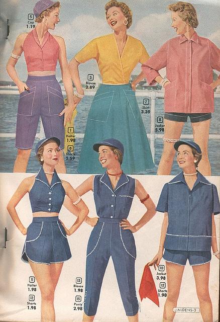 Aldens Spring and Summer catalog, 1954
