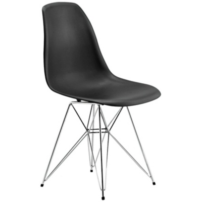 Zuo Spire Black Dining Chair by Euro Style Lighting $144 | #Products & #Brands at #Olioboard