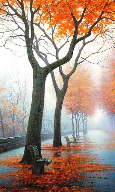 Autumn soft glows