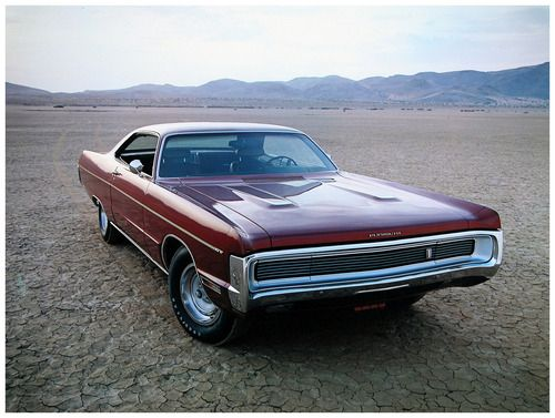1970 Plymouth Sport Fury GT Hardtop Coupe red
