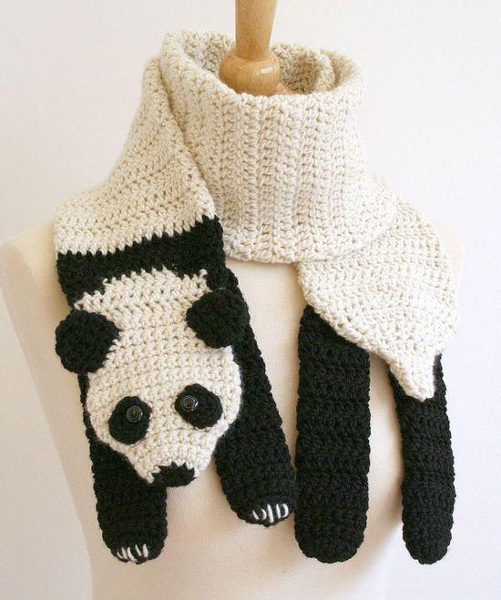 PAP  Bufanda Panda