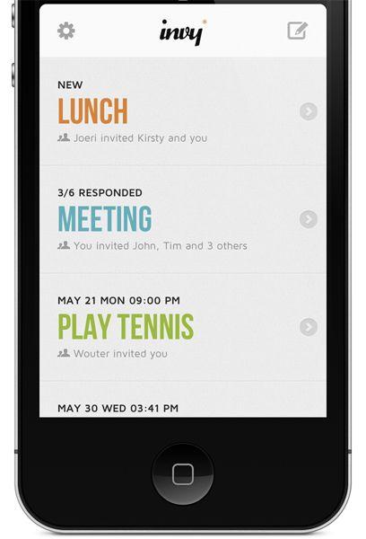 Pick a date. App IPhone